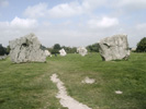 Avebury - Ancient Stone Circle - Path into centre