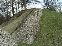 Berkhampstead Castle - The Bailey Tower - Side View