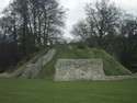 The Motte from Berkhamstead Castle