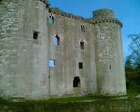 Nunney Castle - Side Wall