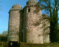 Nunney Castle - Main Approach