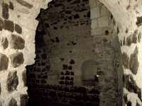 Orford Castle - Fireplace alcove