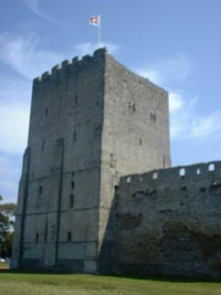 Portchester Castle - Main Tower