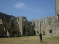 Portchester - Roman wall