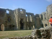 Portchester - Roman Wall 2