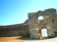 Portchester - Roman Wall and Gatehouse